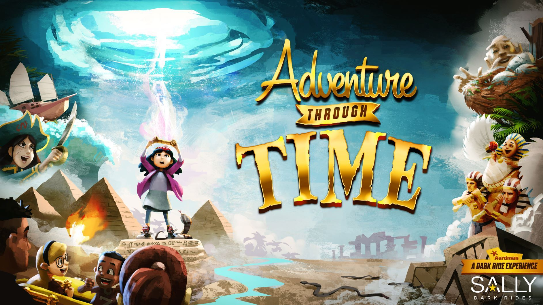 Adventure Through Time dark ride