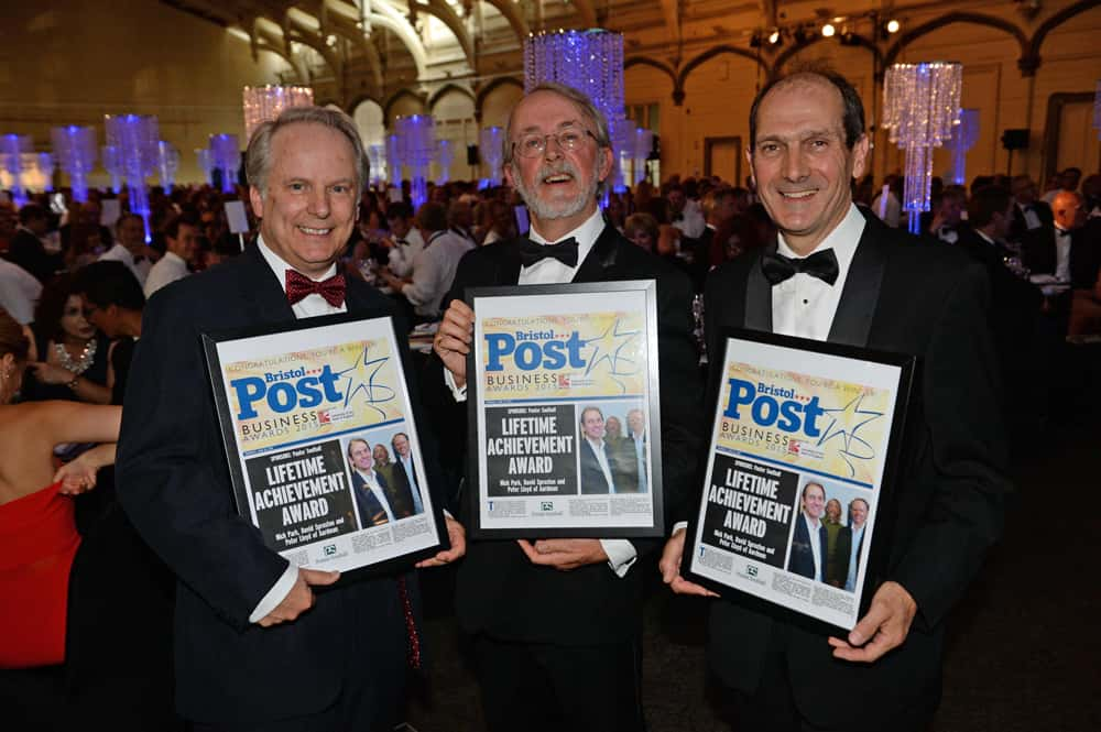Bristol Post Business Awards 2015 Lifetime Achievement Award  Aardman Animation  Nick Park  Peter Lord  David Sproxton Date: 25/06/15 Photographer: Michael Lloyd/Freelance Reporter:  Copyright: Local World