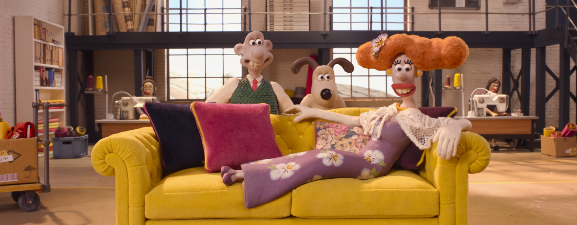 Wallace & Gromit DFS Winter Sale