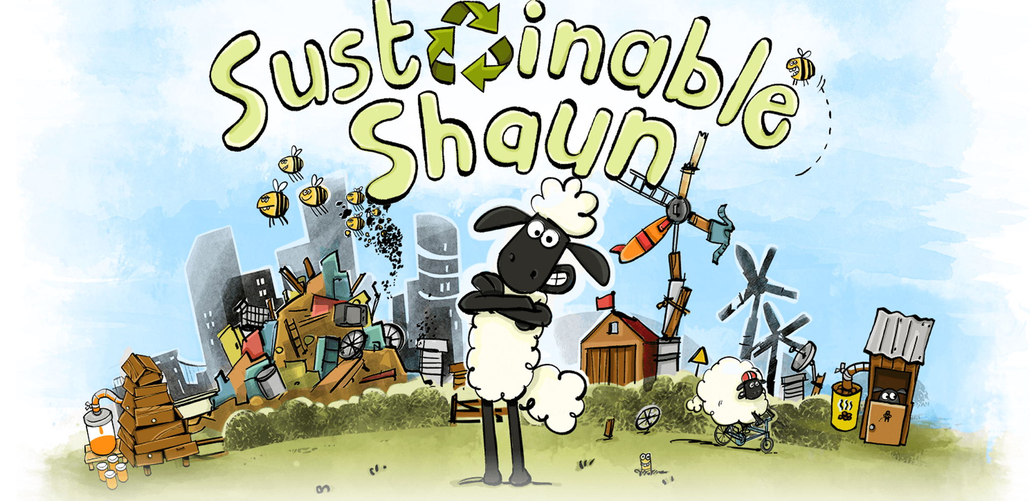 Shaun The Sheeps Sustainable Game Launches Across EU