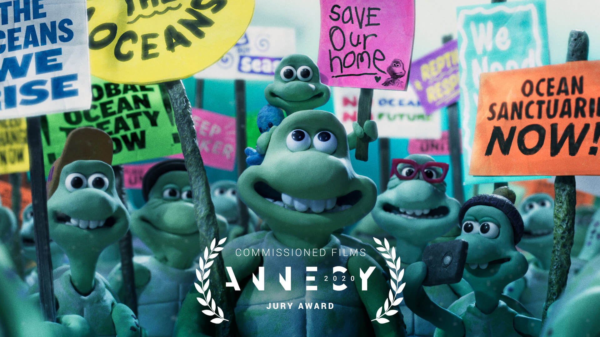 Turtle Journey Annecy Jury Award winner