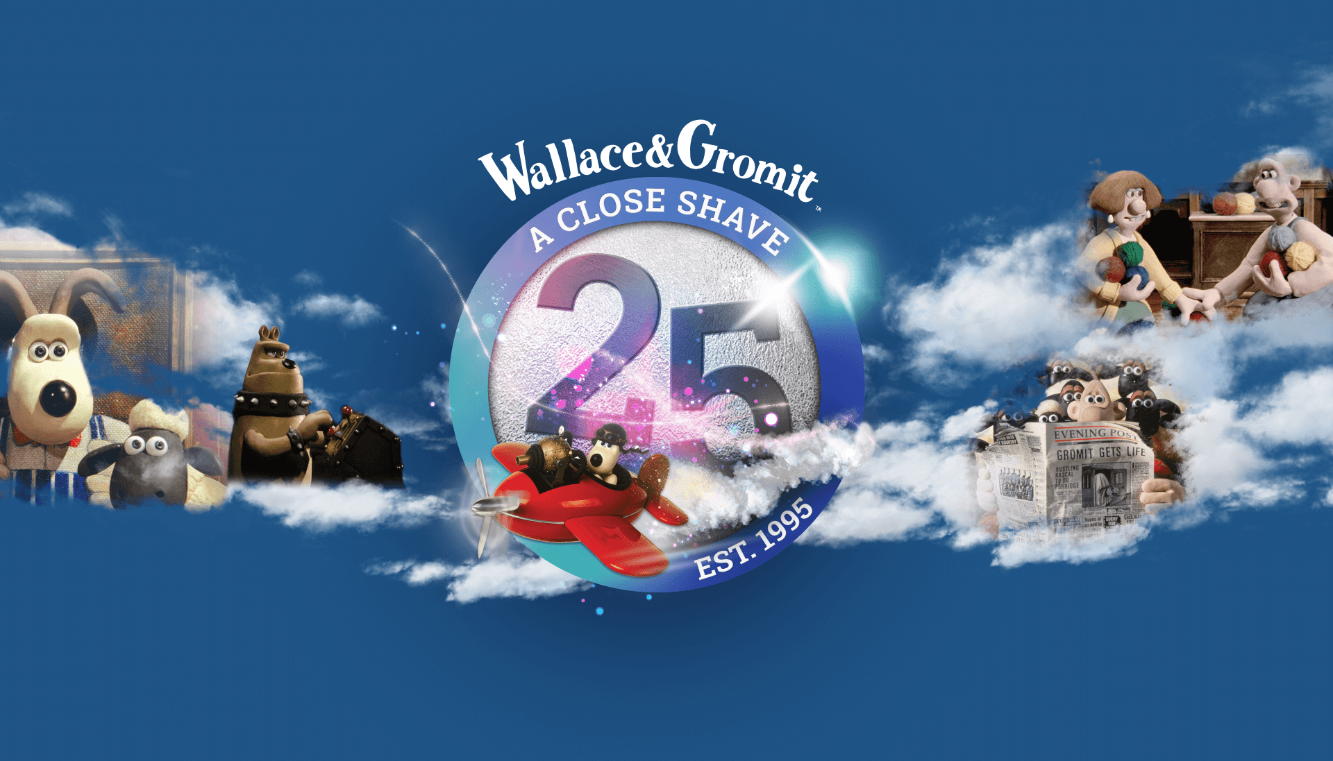 Wallace & Gromit: A Close Shave 25th anniversary