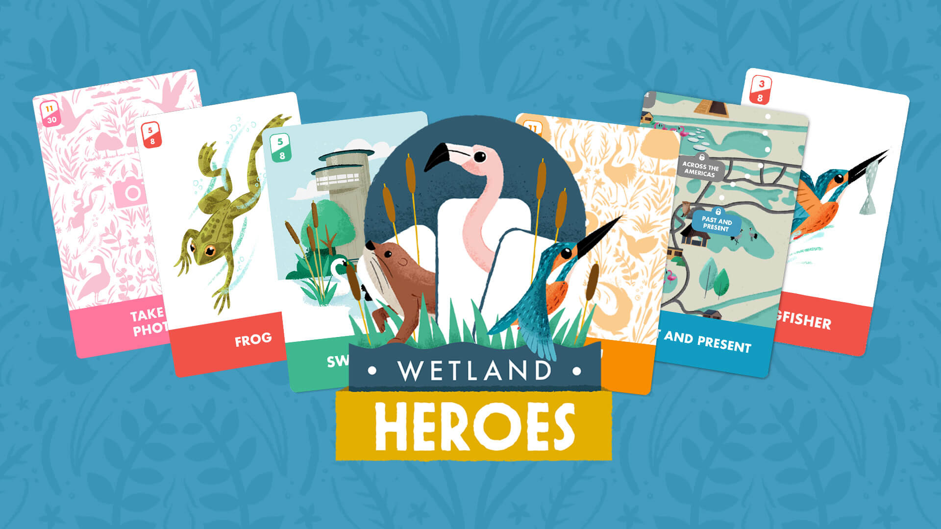 Slimbridge Aardman Wetland Heroes app