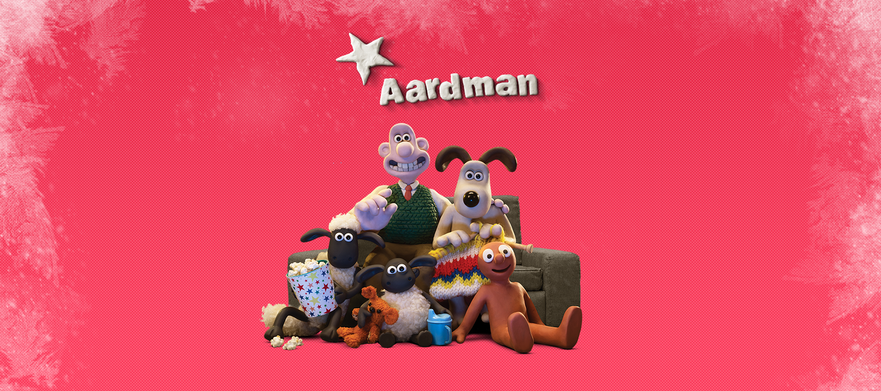 Aardman Christmas TV guide 2019