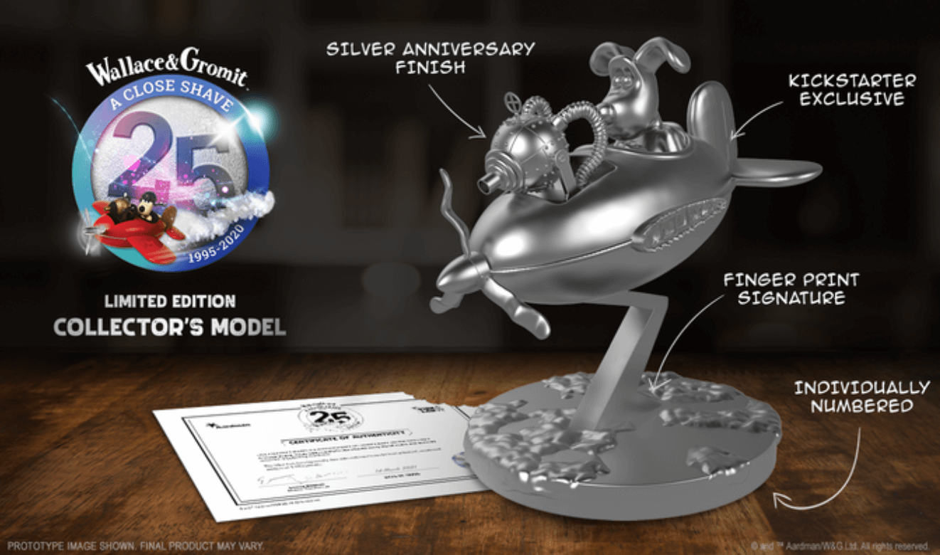 Wallace & Gromit: A Close Shave anniversary model