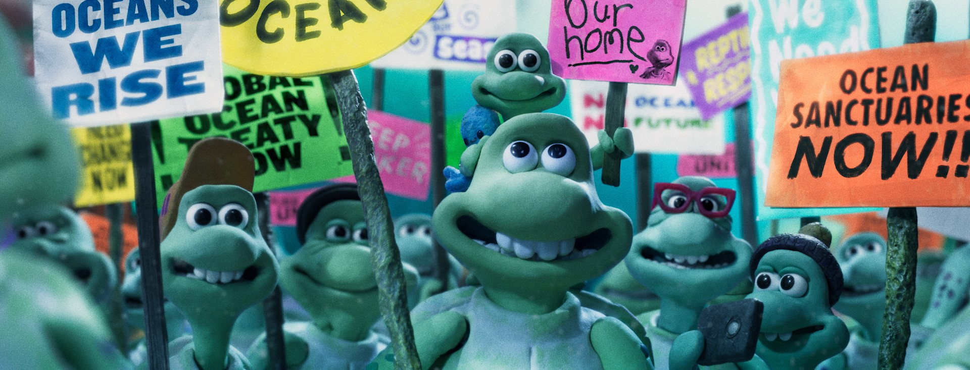 Greenpeace Aardman Turtle Journey