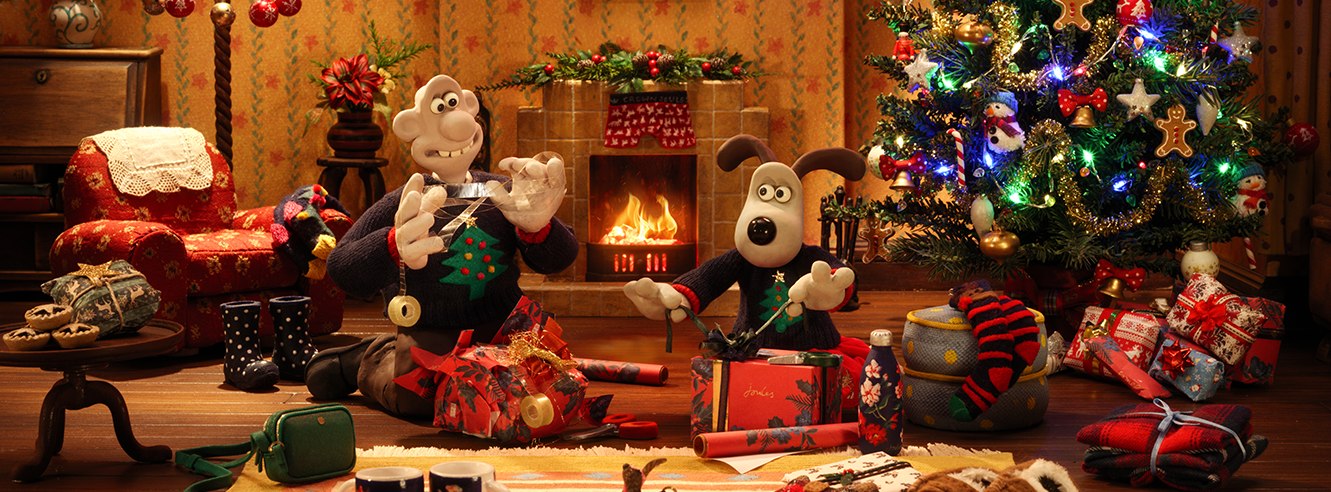 Wallace & Gromit Joules Christmas 2019