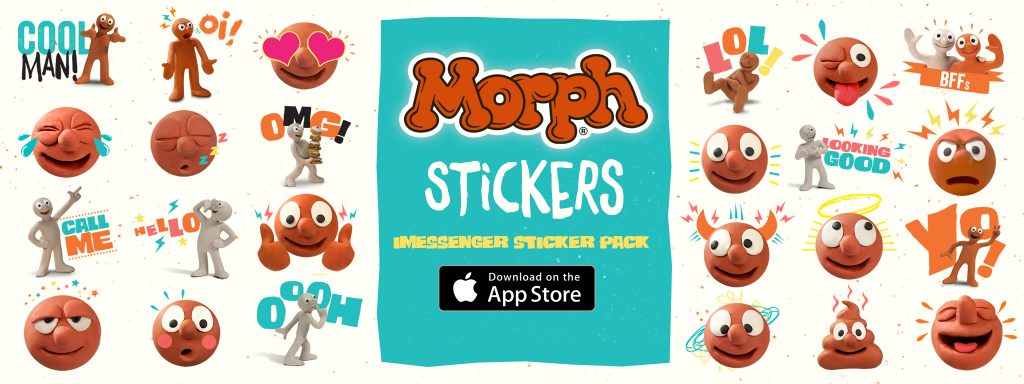 Aardman Launches Morph Emoji Stickers To Celebrate Characters 40th Birthday