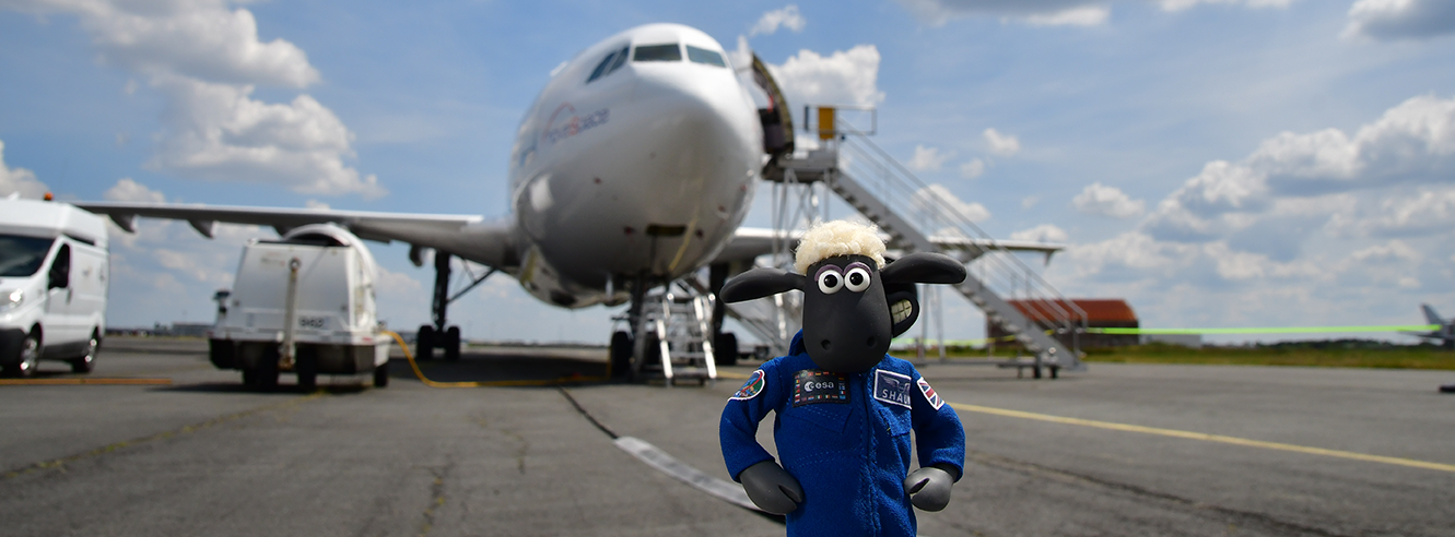 European Space Agency Shaun the Sheep